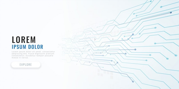 Technology Circuit Diagram Concept Background Vector Free Download