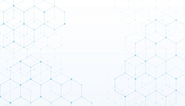 Technology connection digital data white background. Premium Vector