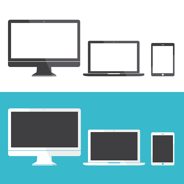 Technology Digital Device Icon Vector\ Concept