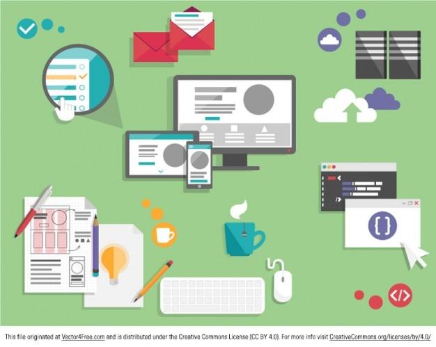 Graphic Design Computer Ui