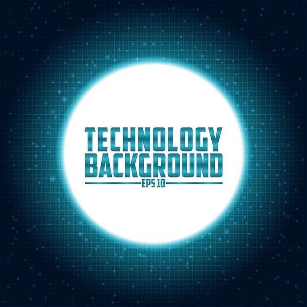 Технология футуристическая схема цифровой фон Premium векторы