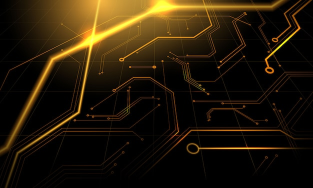 Technology geometric technology modern  concept. abstract texture background Premium Vector