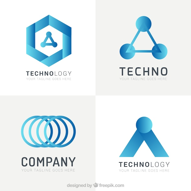 Image result for Get Techno Logo Template Free!