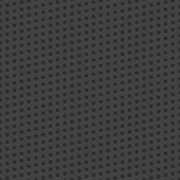 Technology perforated material vector seamless pattern Premium Vector