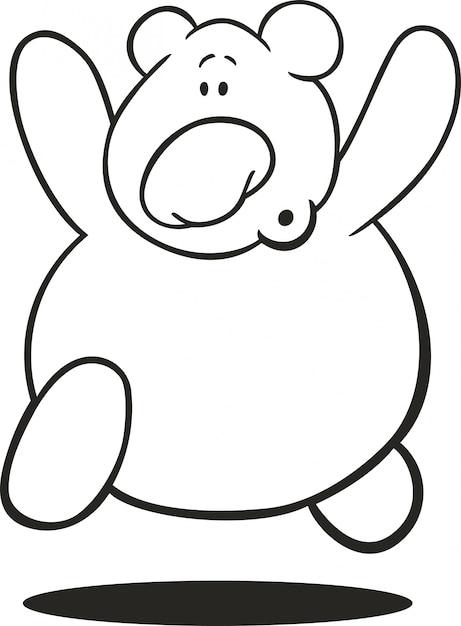 - Premium Vector Teddy Bear For Coloring Book