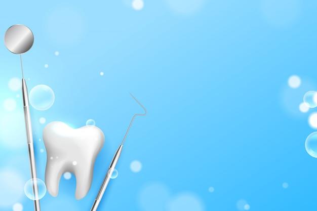 Зубы стоматология медицинское образование Бесплатные векторы