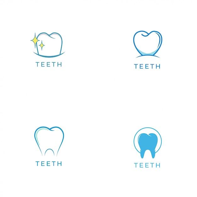 Teeth logo Premium Vector