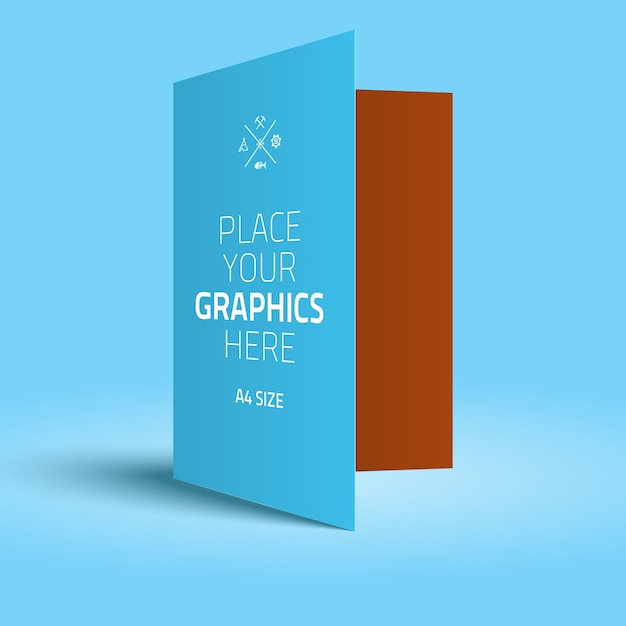 Folder Vectors Photos And PSD Files Free Download - Brochure folder template