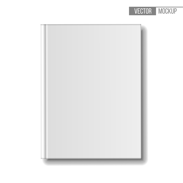 Template books on white background for your  and presentation.  illustration. Premium Vector