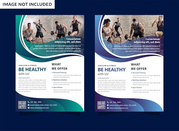 Template design with dynamic waves flyer and lines for sport event, tournament or championship. Premium Vector