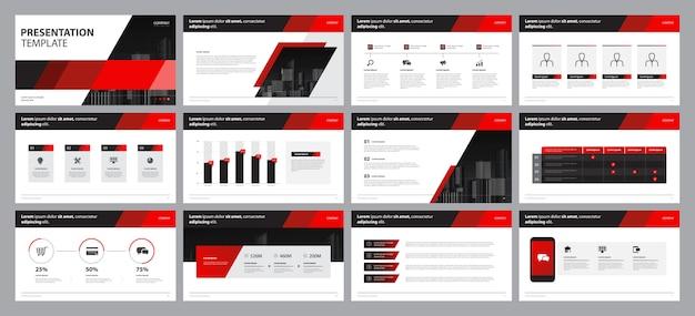 パンフレット、本、年次報告書のテンプレートプレゼンテーションデザインとページレイアウトのデザイン Premiumベクター