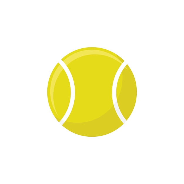 Tennis ball Free Vector