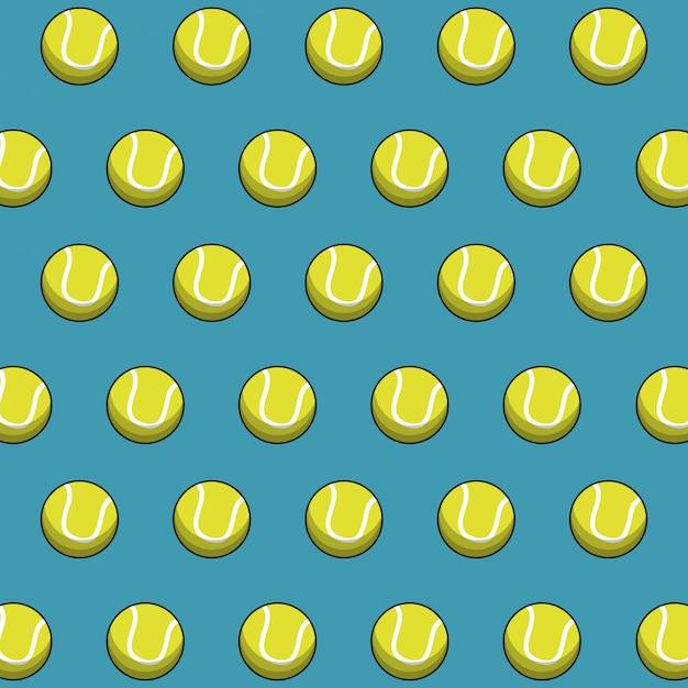 Premium Vector Tennis Balls Wallpaper Sport Image