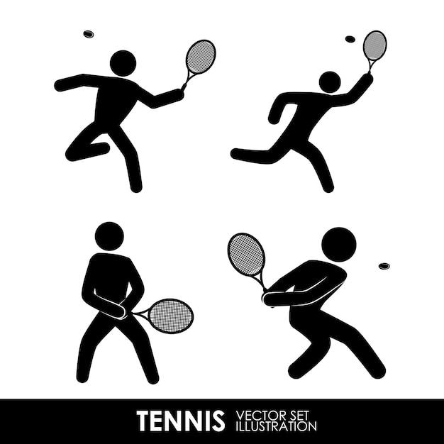 Tennis  design Premium Vector