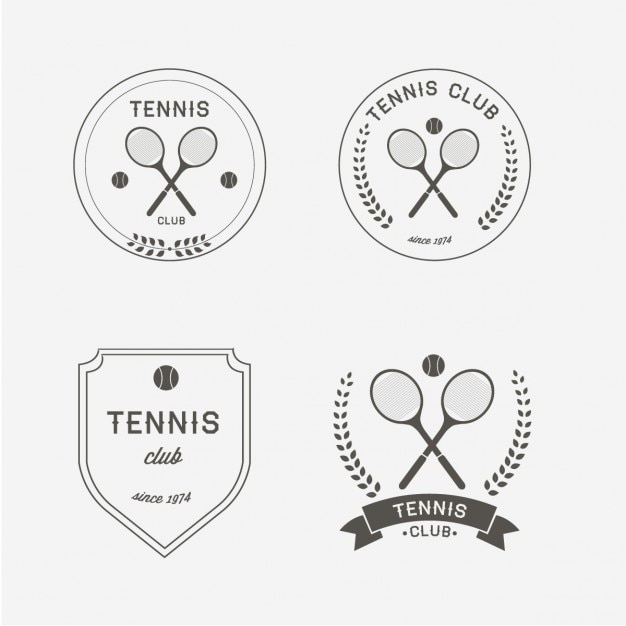 Tennis logo design