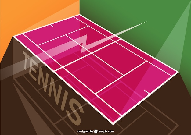 Tennis tournament template
