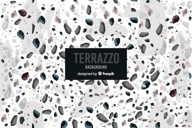 Terrazzo floor background Free Vector