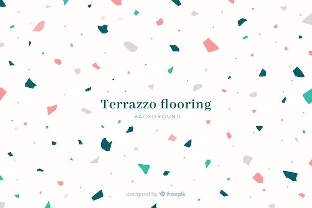 Абстрактная текстура пола предпосылки terrazzo Бесплатные векторы