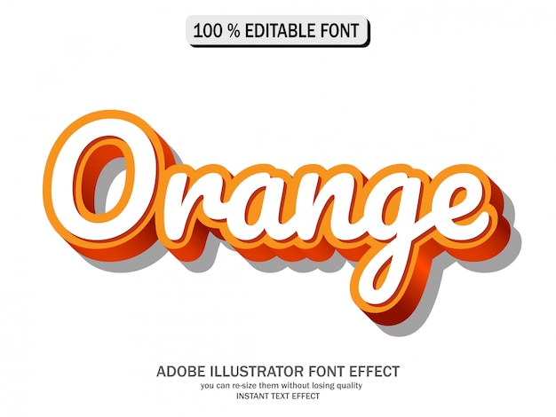 Text effect for cool futuristic effect Premium Vector