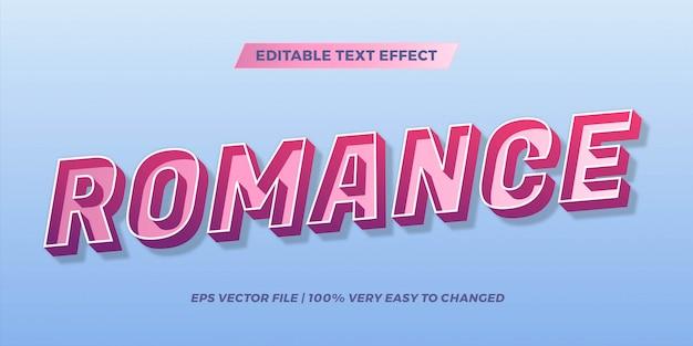 Текстовый эффект в градиенте пастельных тонов романтические слова текстовые эффекты тема редактируемые ретро концепция Premium векторы