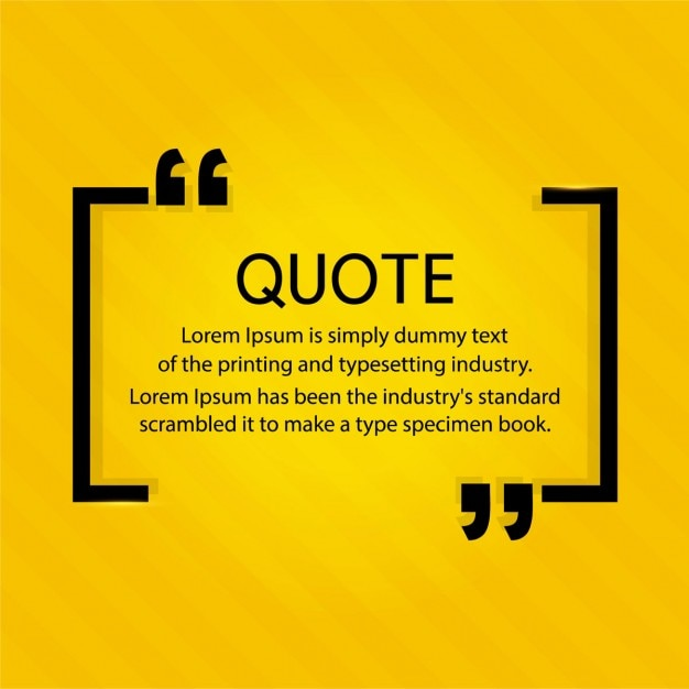How To Make A Quote Prepossessing Quote Vectors Photos And Psd Files  Free Download