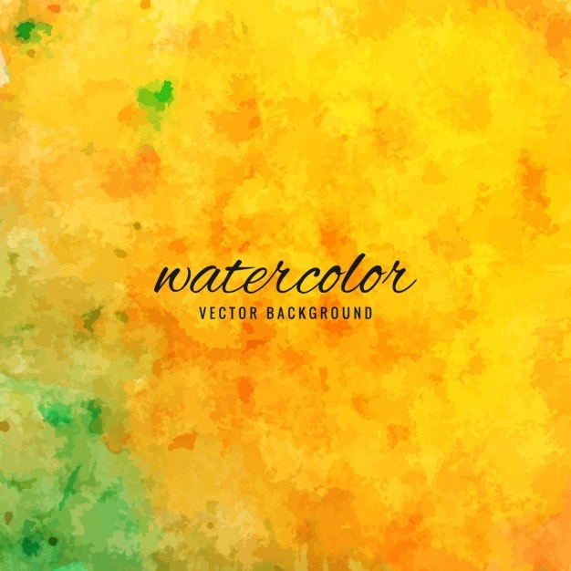 Texture, watercolor, yellow