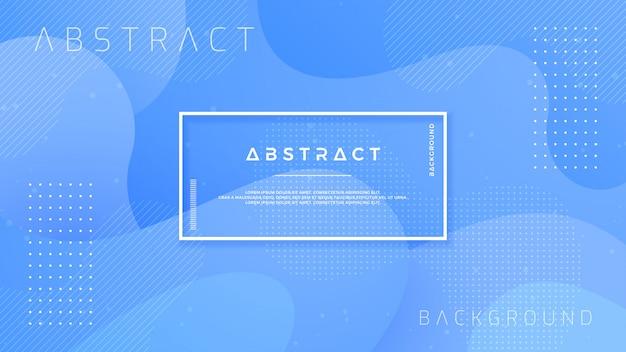 Textured blue background design in 3d style. Premium Vector