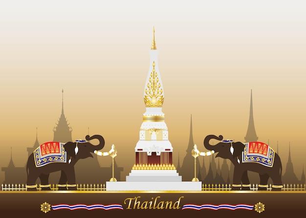 Thailand. Premium Vector