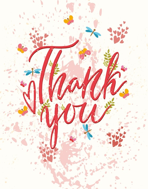 Thank you greeting card vector free download thank you greeting card free vector m4hsunfo