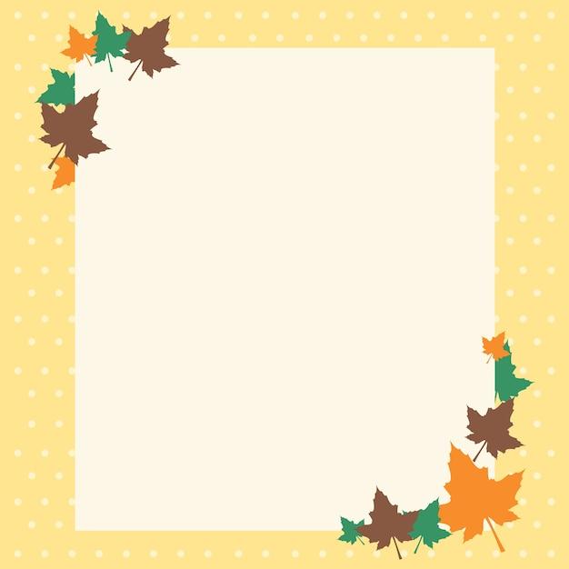 Thanksgiving frame Vector | Premium Download