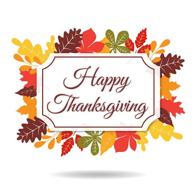 Thanksgiving logo collection Premium Vector