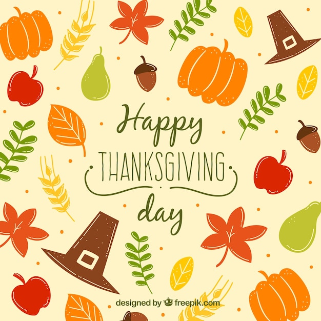 Thanksgiving pattern Vector | Free Download