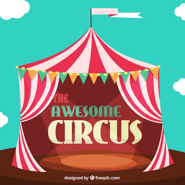 The awesome circus Vector | Free Download