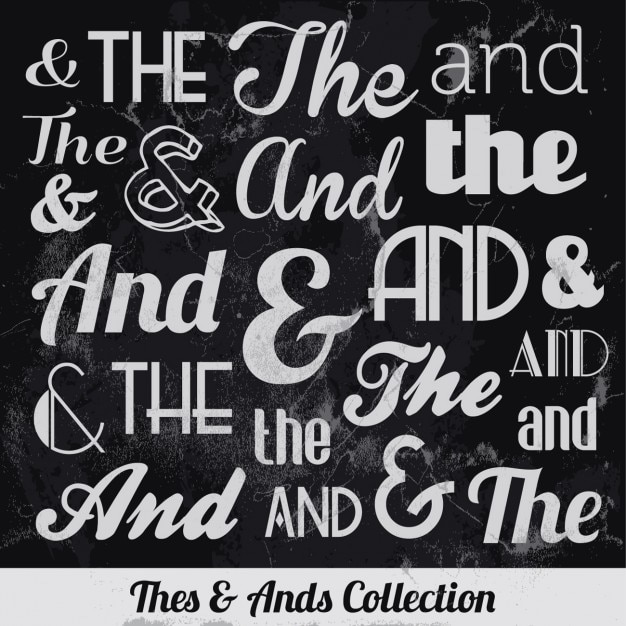Thes & ands collection