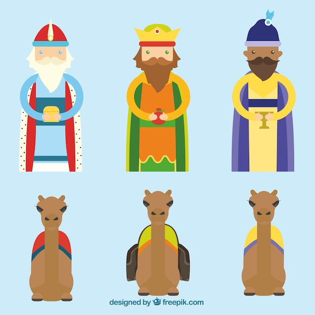 Three Wise Men Clipart #436265 - Illustration by Pams Clipart