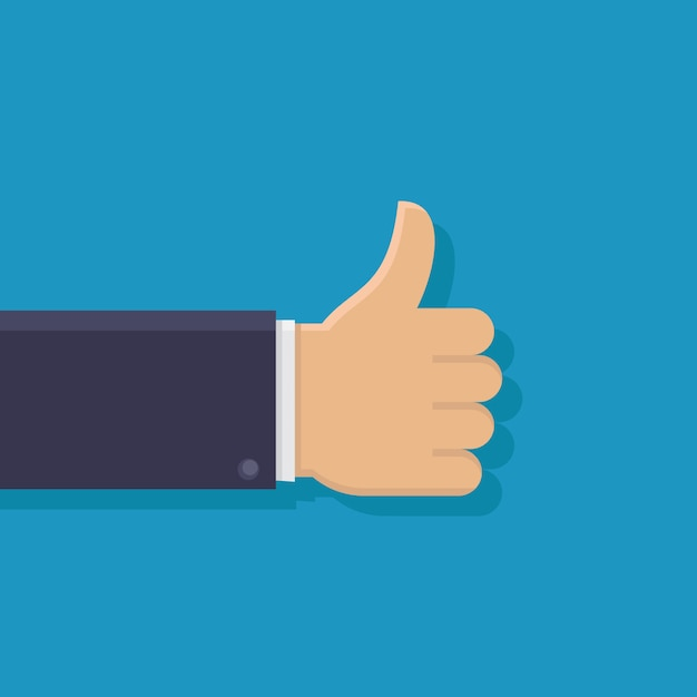 Thumb up Premium Vector