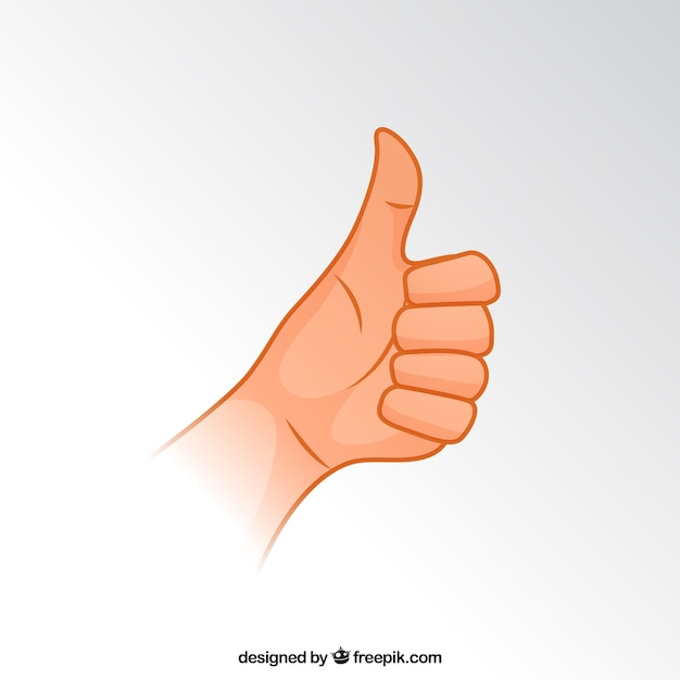Thumbs up Free Vector