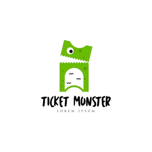 Ticket logo Vector | Premium Download
