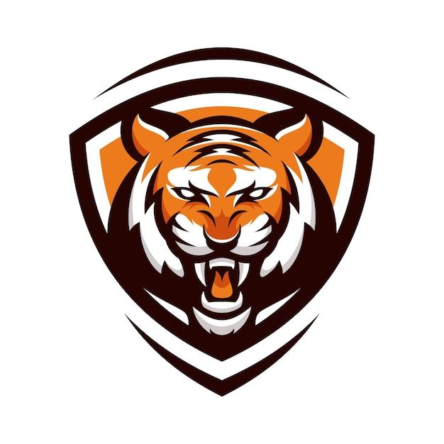 tiger animal sport mascot head logo vector vector premium download rh freepik com mizzou tiger head logo tiger head logo vector