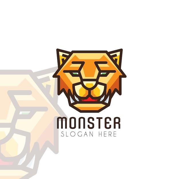 Tiger head logo Premium Vector