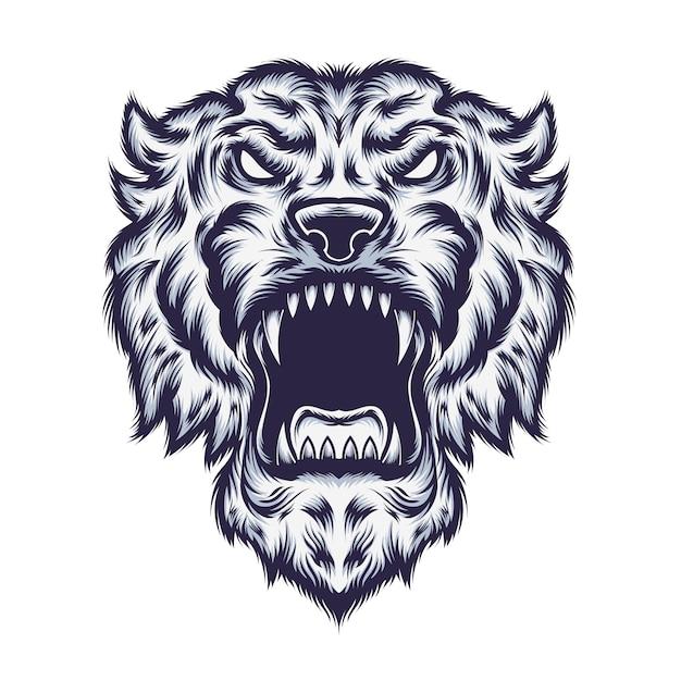 Tiger illustration Premium Vector