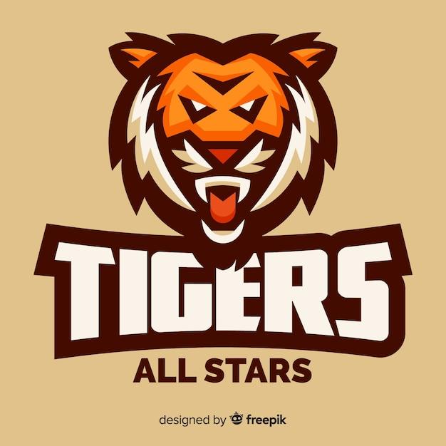 Tiger logo Free Vector