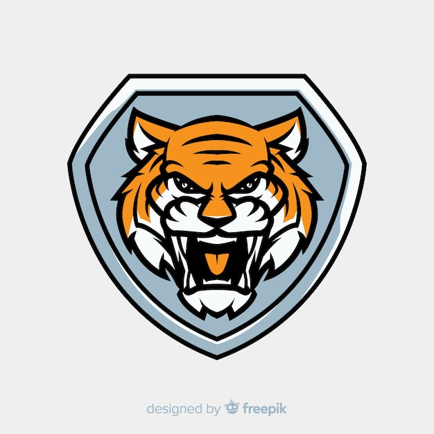 Tiger logo Free Vector