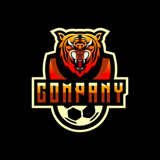 Логотип тигра Premium векторы