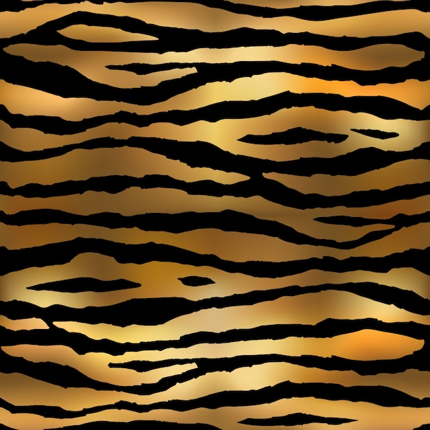 Tiger Pattern Vector Premium Download Awesome Tiger Pattern