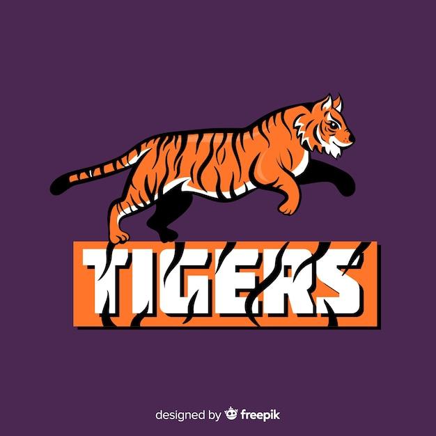 Логотип tiger Бесплатные векторы