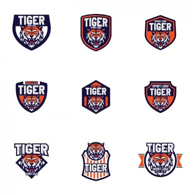 Tigers logo templates design