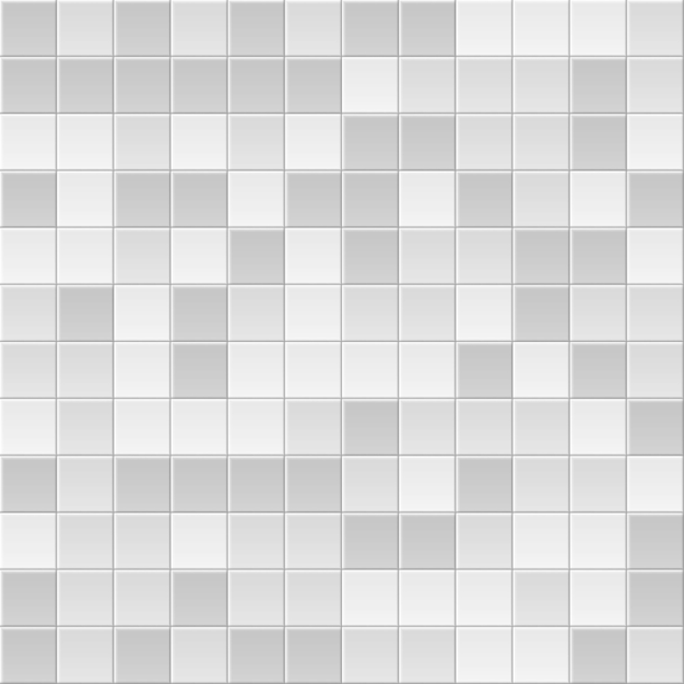 Tile background. abstract block pattern. brick texture. square tiles. white, grey colors. Premium Vector