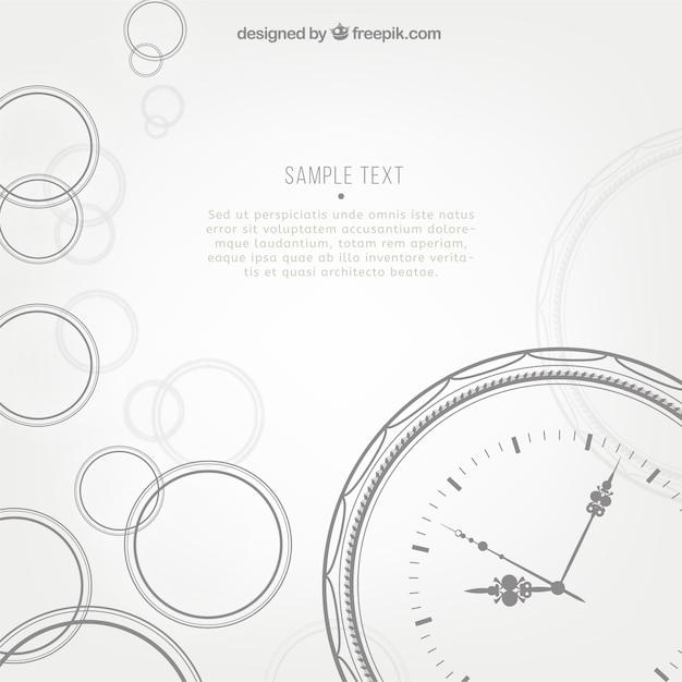 Clock psd PSD file   Free Download
