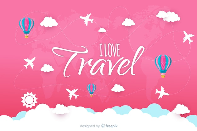 Time to travel background Free Vector